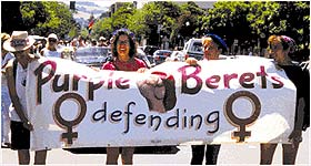 Purple Berets, Women Defending Women