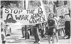 Stop the War Against Women